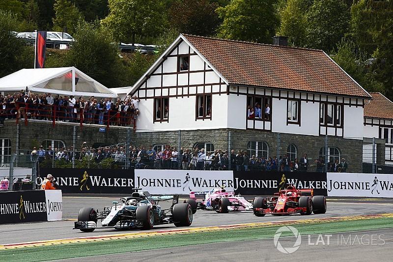 Hamilton: Vettel me pasó en la recta como si yo no existiera
