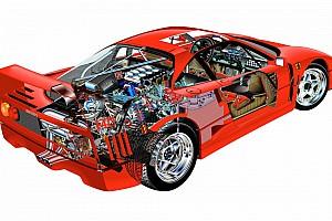 Auto Actualités Redécouvrez la Ferrari F40 dans le détail !