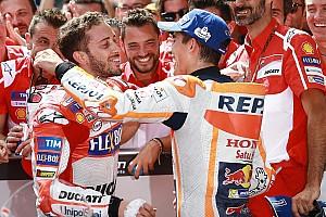 MotoGP Últimas notícias Dovizioso diz que sabia que Márquez tentaria manobra final