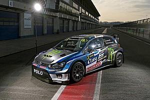Rallycross-WM News Petter Solberg stellt neuen VW Polo für die Rallycross-WM 2017 vor