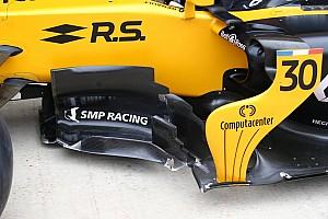 Formula 1 Analisi Renault: il nuovo barge board fa volare Hulkenberg