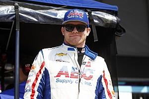 IndyCar Crónica de test Daly domina en Gateway, pero terminó su jornada temprano