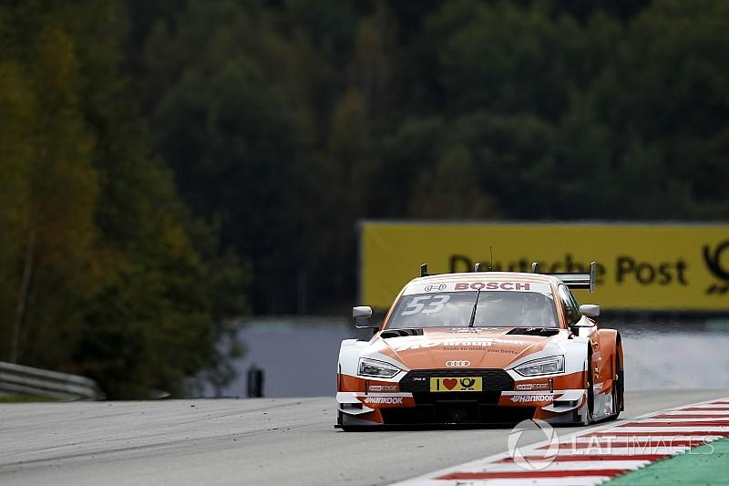 DTM у Шпільберзі: Audi домінувала у другому тренуванні