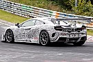 Autó Nürburgringi kémfotókon a titokzatos McLaren 675LT versenyautó