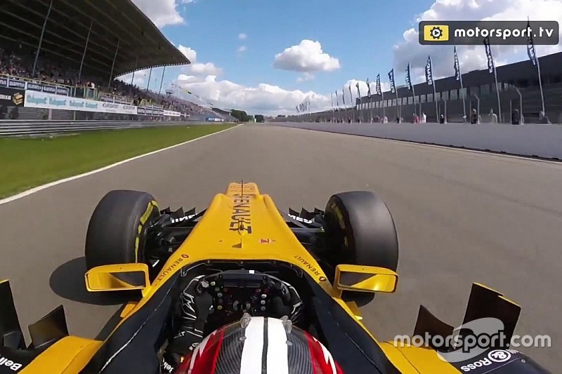 Video: Plankgas met Hülkenberg over TT Circuit Assen