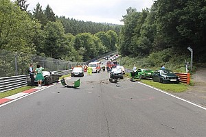 General Breaking news Ten left injured in Nordschleife track day pile-up