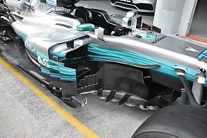 Formula 1 Analisi Mercedes: i coltelli del fondo ora sono di misure diverse