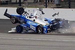 IndyCar Важливі новини Відео: найвидовищні аварії на Інді-500