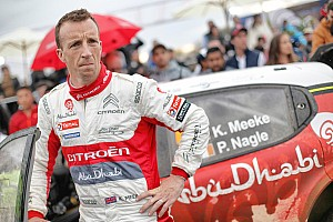 WRC BRÉKING Videón, ahogy Meeke rongyol az összetört Citroen C3 WRC-vel