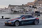 Circuitracen Dit is de raceversie van de Tesla Model S
