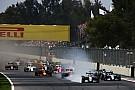 Hamilton says he didn't gain an advantage at Turn 1