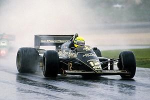 Formule 1 Diaporama Photos - La première victoire d'Ayrton Senna en F1