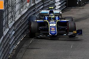 FIA F2 Breaking news Norris: Qualifying crash