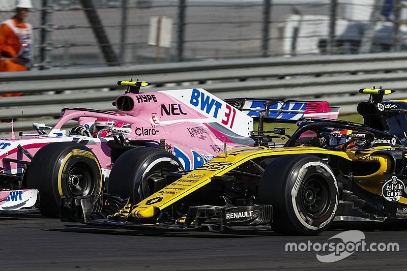 Renault tak ingin disalahkan atas situasi sulit Ocon
