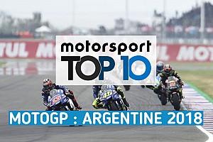 MotoGP Actualités Vidéo - Le top 10 du GP d'Argentine