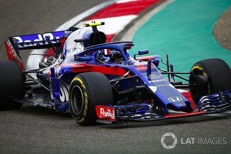 """Gasly : """"Nous sommes à 0""""3 ou 0""""4 de Renault et Haas"""""""