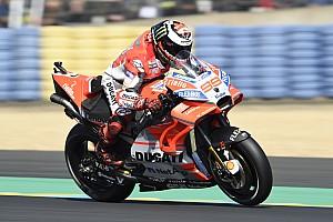Ducati-Tank macht Jorge Lorenzo physisch fertig