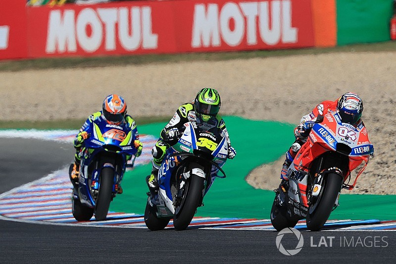 Гран При Чехии MotoGP: стартовая решетка
