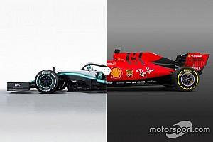 Vergleich Formel-1-Autos 2019: Mercedes W10 vs. Ferrari SF90