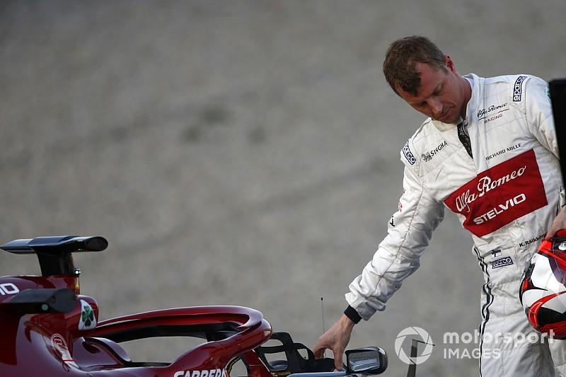 Raikkonen repairs own Alfa Romeo F1 seat