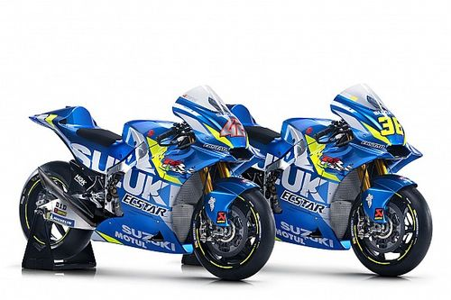 Suzuki reveals livery for 2019 MotoGP bike