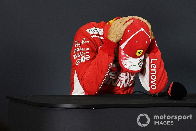 Vettel: F1 title defeat expected, but still painful