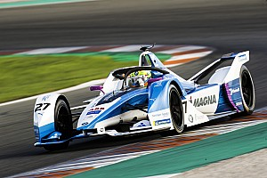 BMW rookie Sims leads opening day of Formula E testing