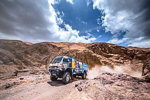 Dakar, camiones, etapa 8: Sotnikov se coloca líder de la general