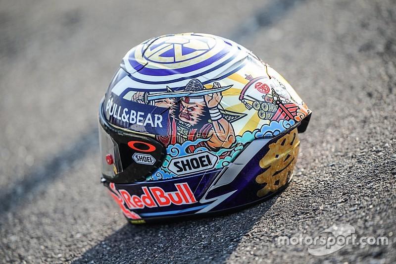 Fotogallery: ecco il casco speciale che indosserà Marc Marquez al GP del Giappone 2018