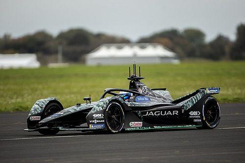 Bird prueba por primera vez con Jaguar en la Fórmula E