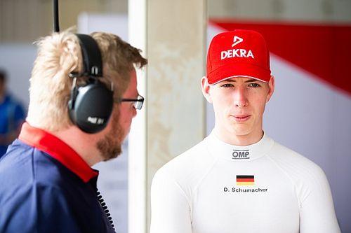 David Schumacher deja Charouz en la Fórmula 3