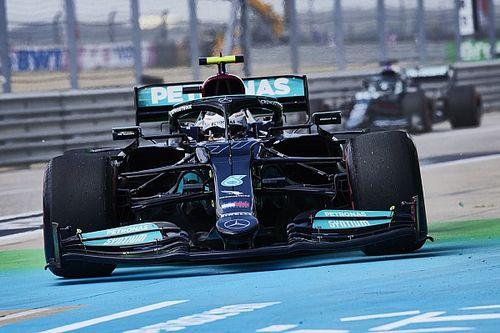 Mercedes n'a rien détecté sur les nouveaux moteurs de Bottas