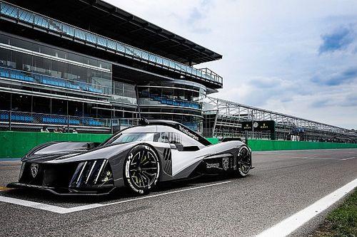 A Peugeot magabiztosan fogja versenybe küldeni a hátsó szárny nélküli 9X8-as hiperautóját