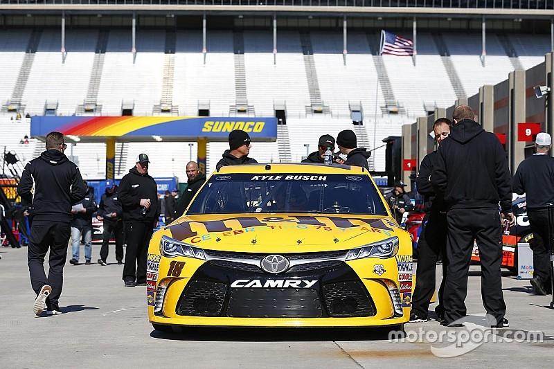 NASCAR Atlanta: Busch-Brothers teilen sich die erste Startreihe