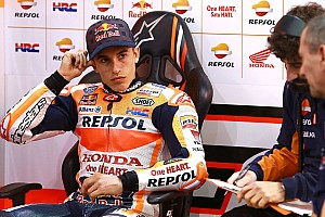"""MotoGP Breaking news Marquez admits """"everything went wrong"""" on final test day"""