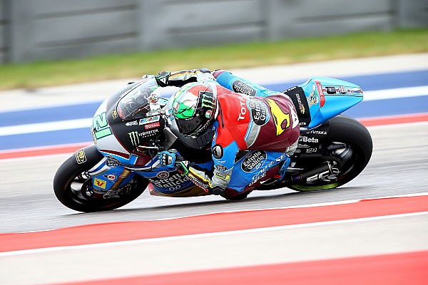 Morbidelli start Moto2-race in Austin vanaf pole position