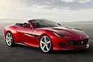 Automotive Ferrari Portofino zwaait California T uit
