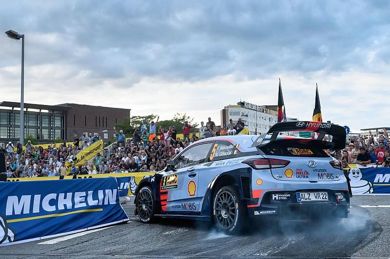WRC şampiyona lideri Neuville, Almanya Rallisi'nde yarış dışı kaldı!