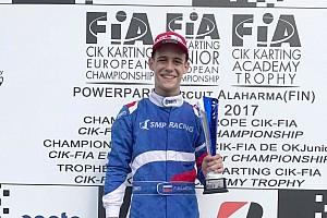 Картинг Новость Российский гонщик Буланцев стал вице-чемпионом европейского картинга