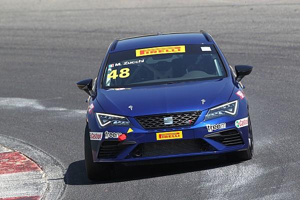 Matteo Zucchi in pole position per entrambe le gare a Vallelunga