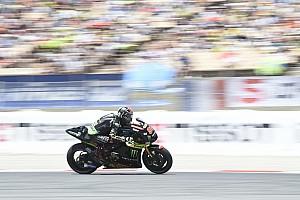 MotoGP Trainingsbericht MotoGP in Barcelona: Folger im Warm-Up vorne, Marquez stürzt erneut