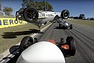 Other open wheel Formula Vee driver survives nasty shunt – video