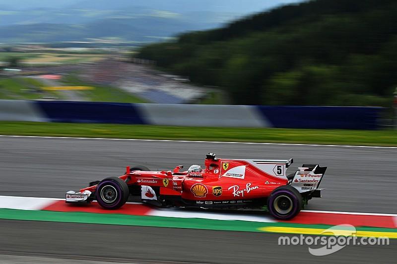 Avusturya GP 3. antrenman: Vettel lider, Hamilton sorun yaşadı