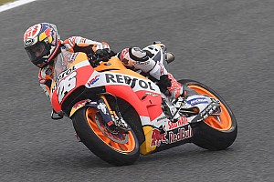 MotoGP Reporte de prácticas Pedrosa lidera también en seco un 1-2-3 de Honda