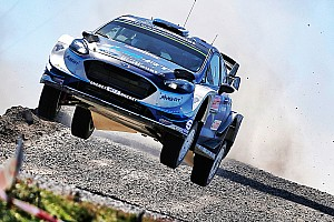 WRC Leg report Portugal WRC: Tanak on top after wild opening day