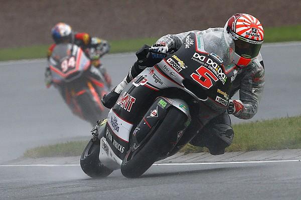 Moto2 auf dem Sachsenring: Jonas Folger mit Platz zwei