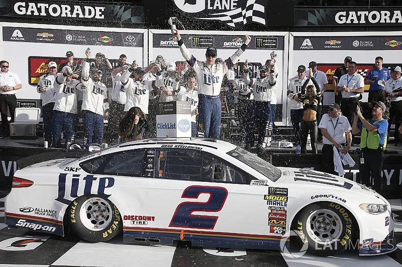 Keselowski wins Clash at Daytona in Penske 1-2