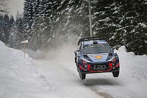 WRC Leg звіт Ралі Швеція: Брін атакує тріо Hyundai