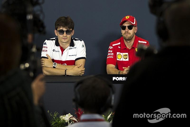 Villeneuve: Vettel, gelmesi halinde Leclerc'i canlı canlı