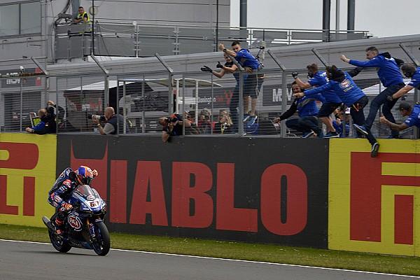 World Superbike Crónica de Carrera Van der Mark completa el primer doblete de Yamaha desde 2011